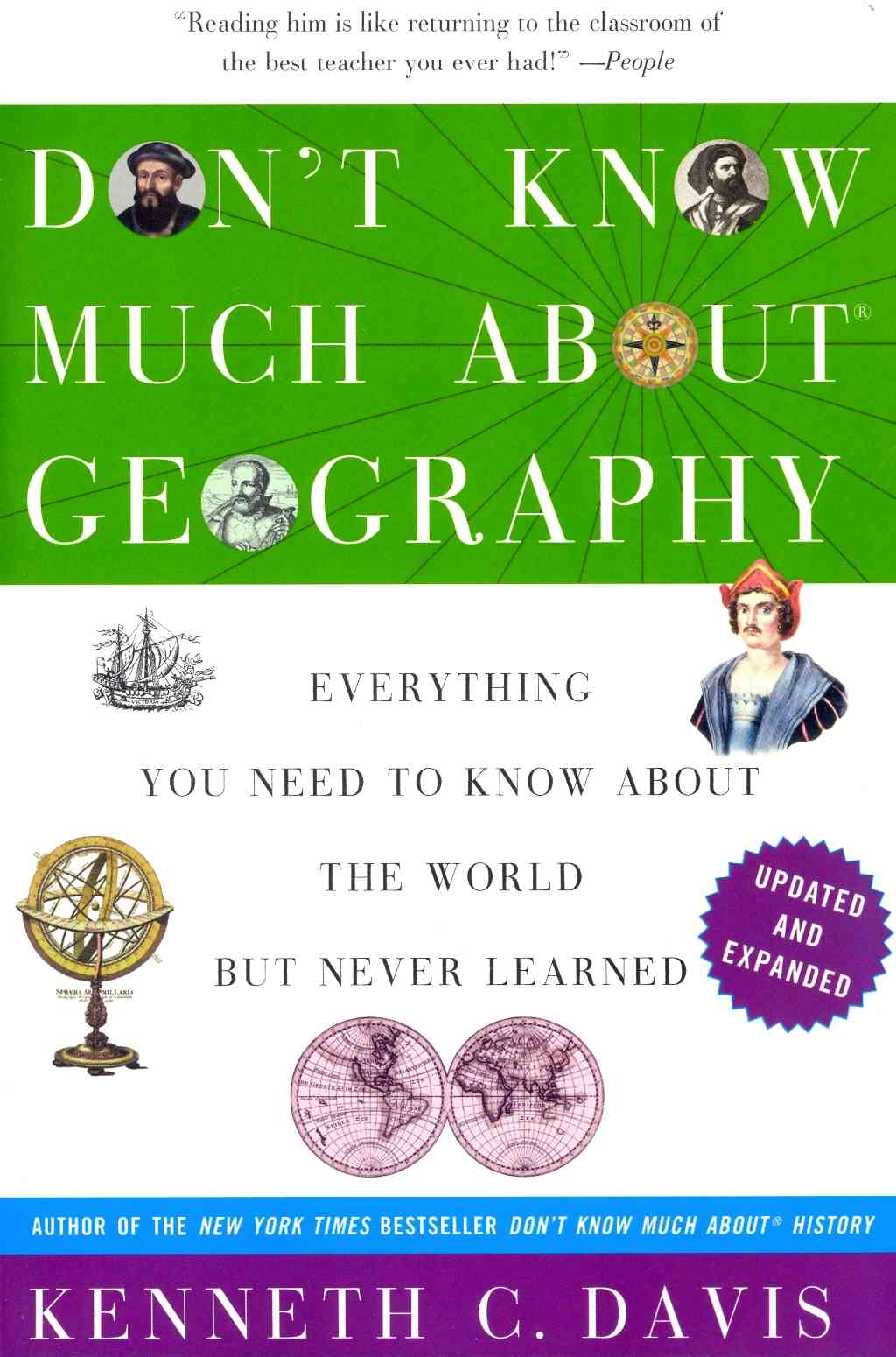 Don't Know Much About Geography By Davis, Kenneth C.